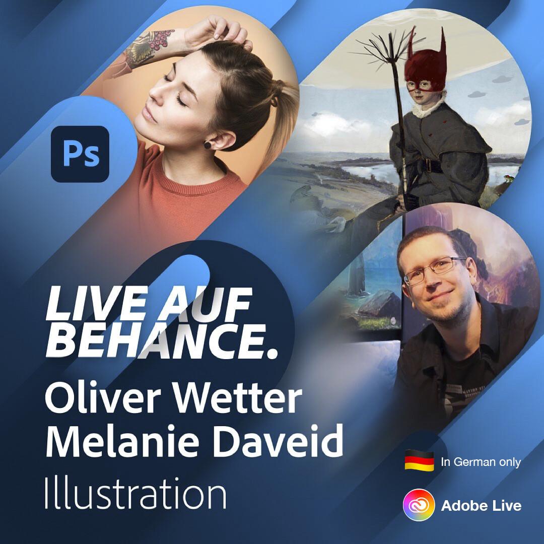 Live-Stream on Adobe-Live / Behance