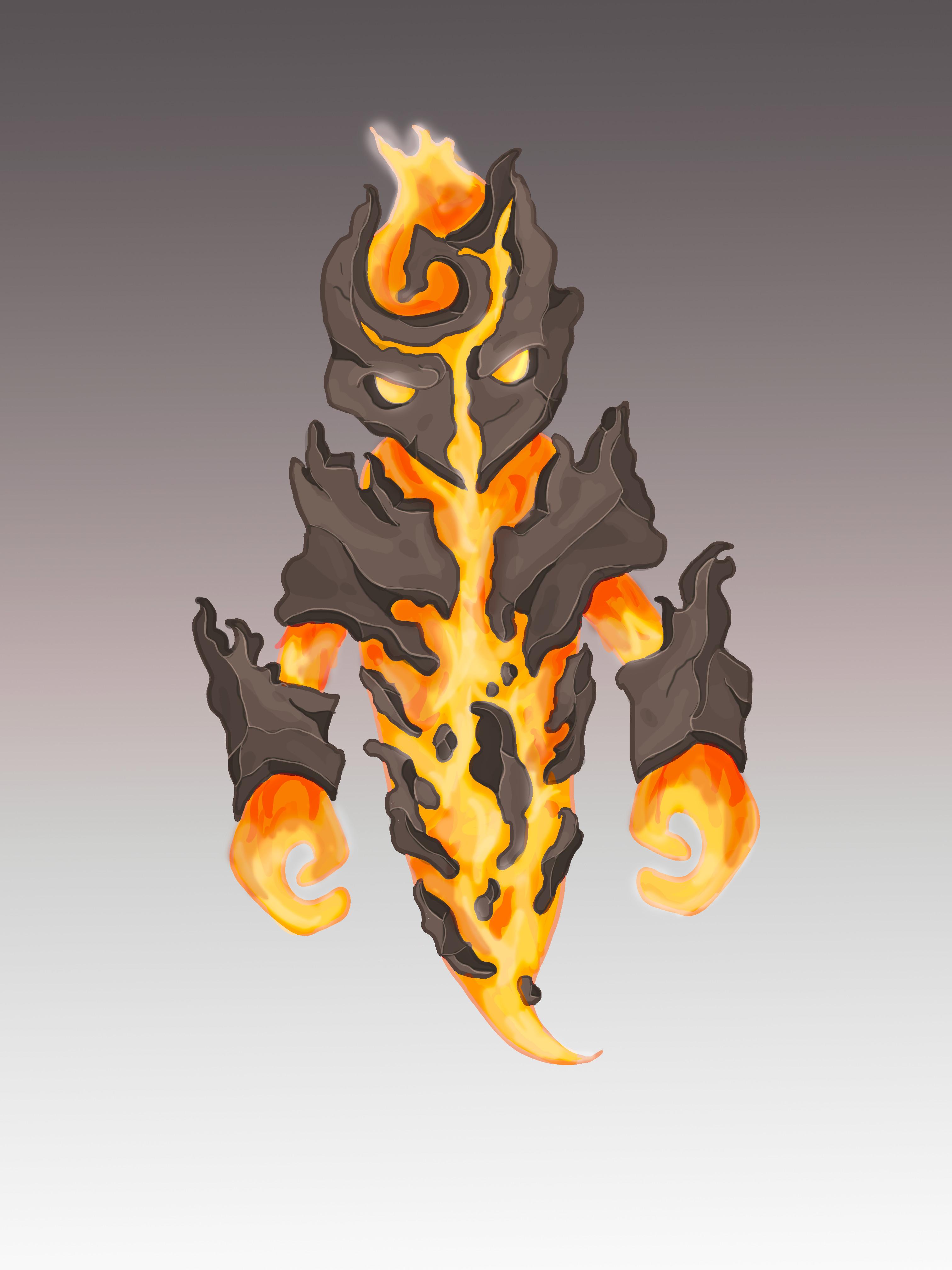 Original Blaze concept art