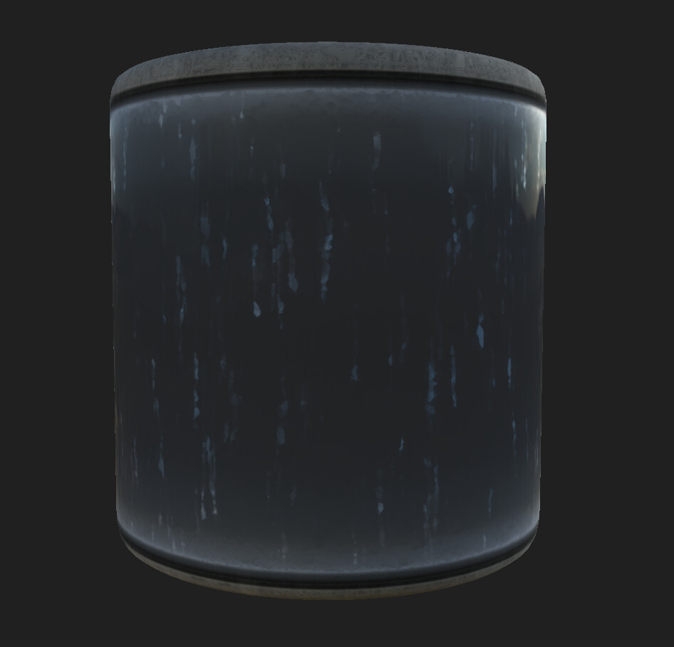 Stylized Glass texture I made in Substance Designer.