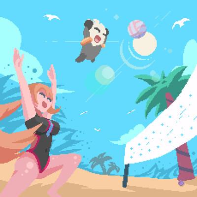 Alex illustration bahroo summer contest 2021