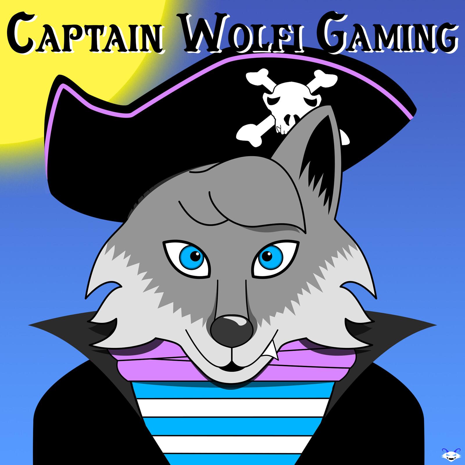 CaptainWolfiGaming Fan Art #1