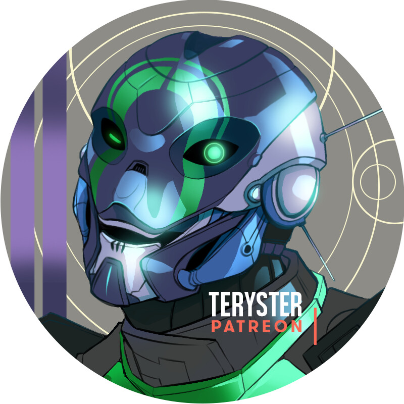 Icon commission of Destiny character