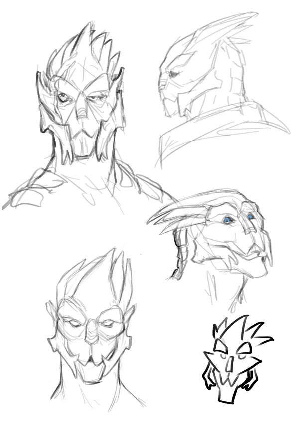 Turian characters from stream