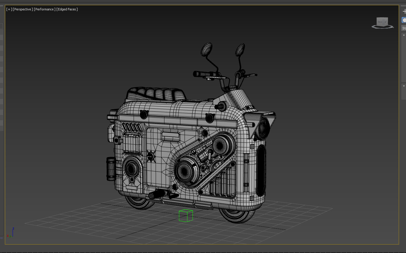 Wireframe MP500