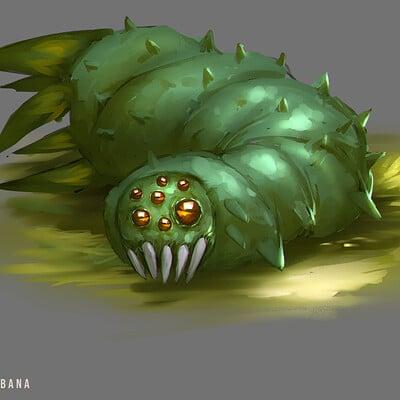 Benedick bana worm creature 04