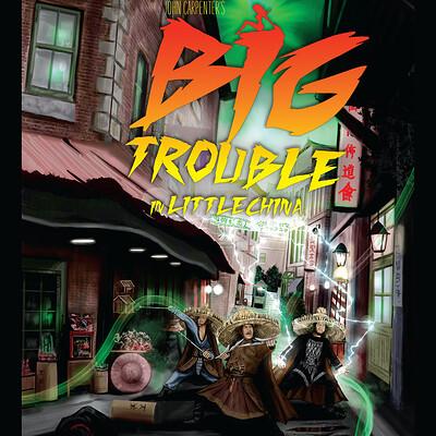 Paul butcher a3 big trouble poster ig