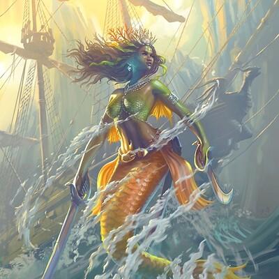 Yasushi matsuoka the mermaid pirate