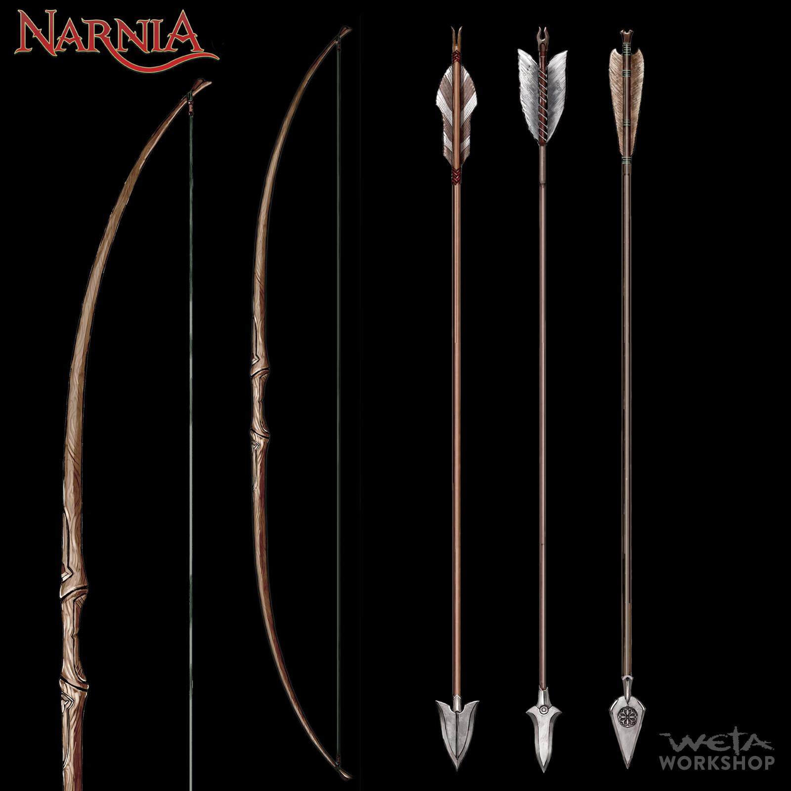 Centaur Bow and Arrow