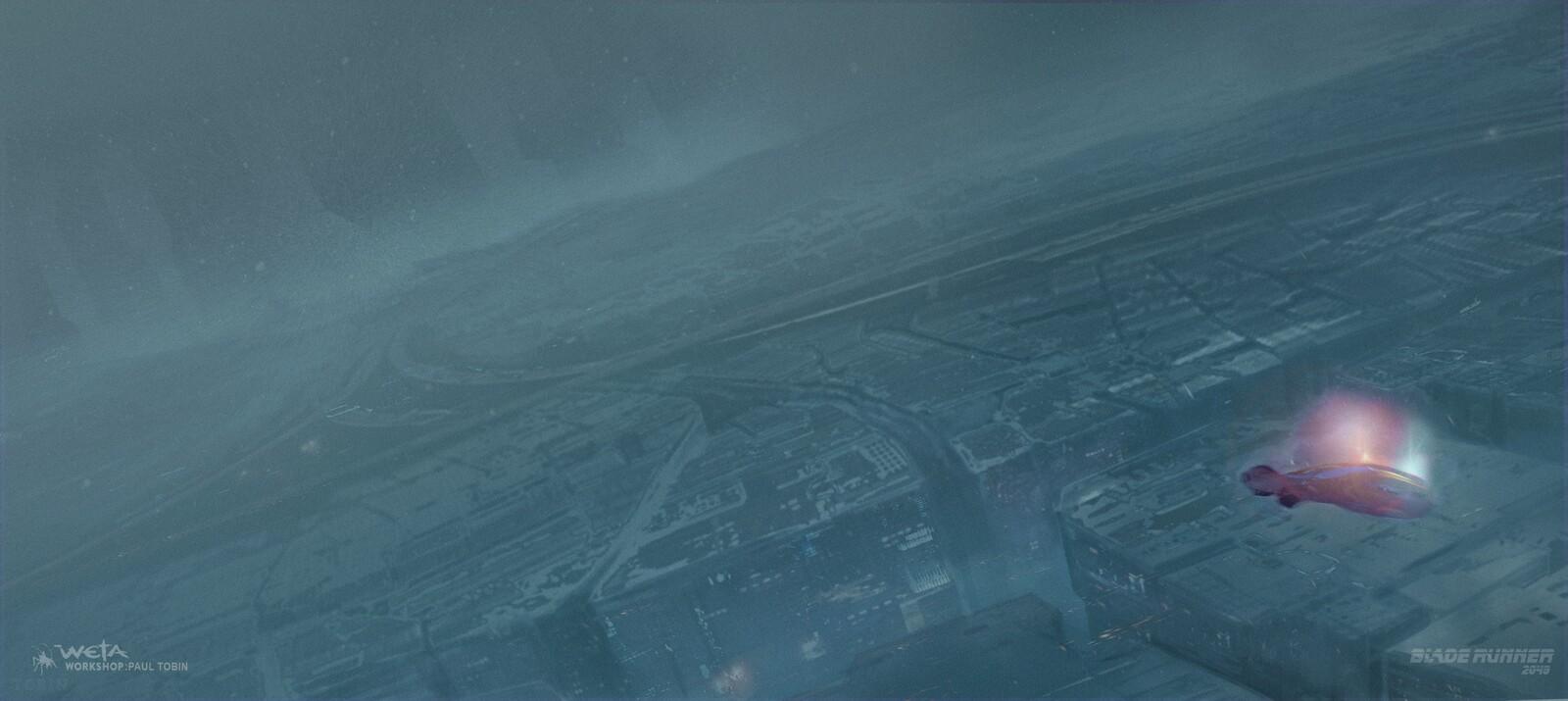 Bladerunner 2049 : K's Approach to LA