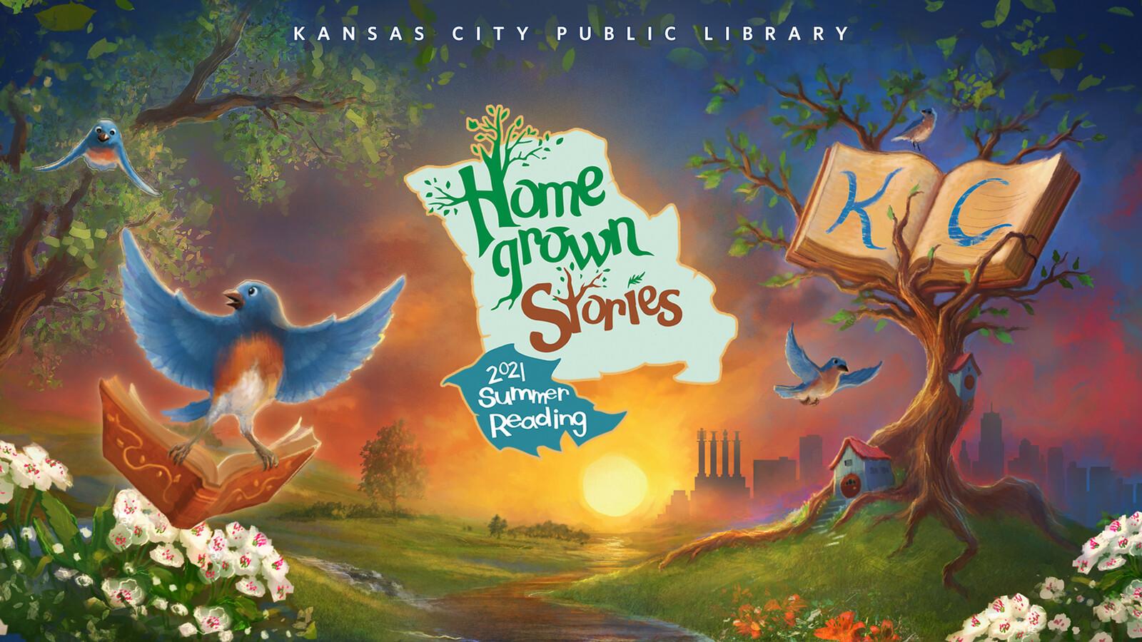 Homegrown Stories - Summer Reading Program 2021