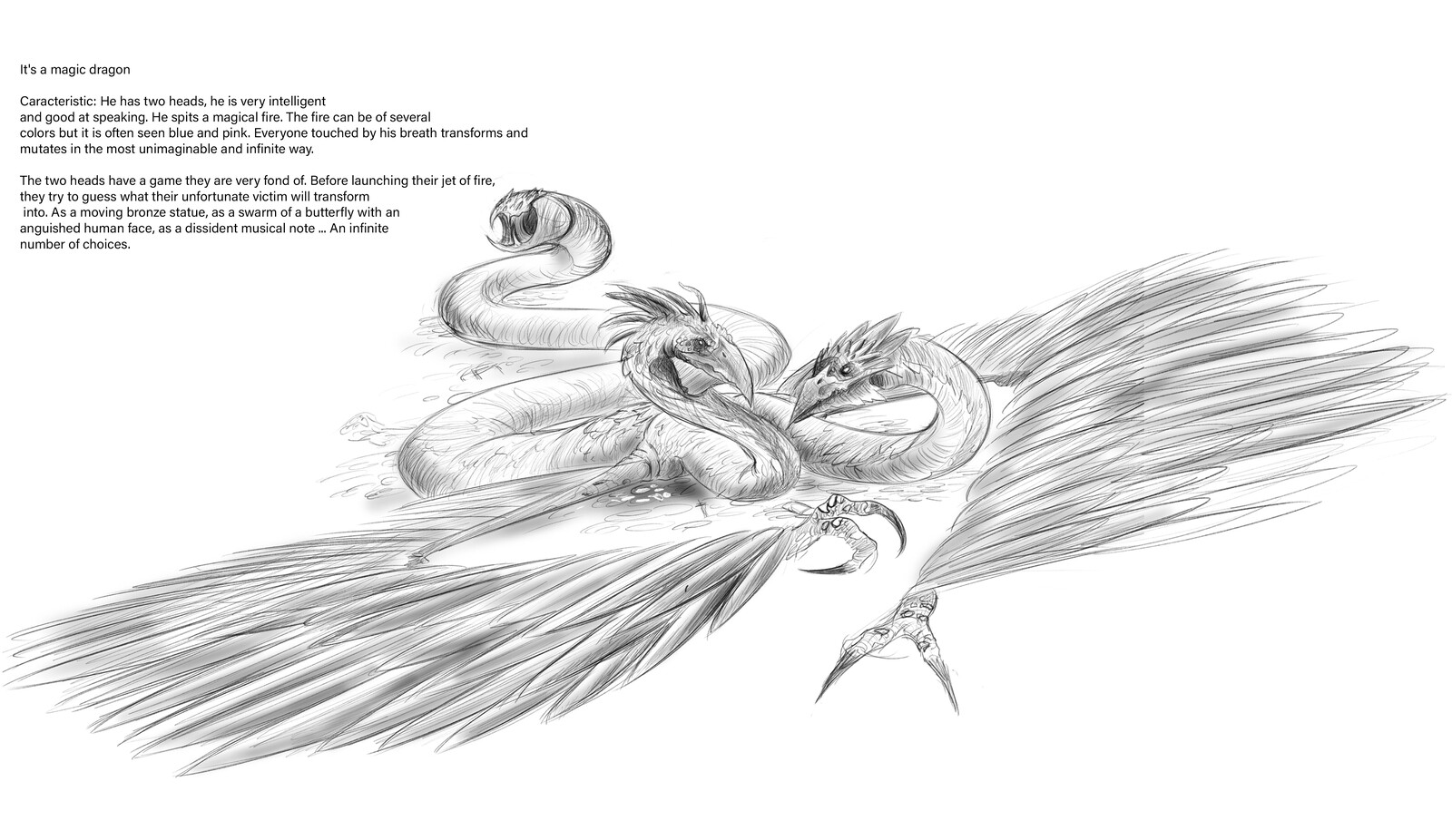 Greatly inspired by the dragons of Tzeentch: Warhammer