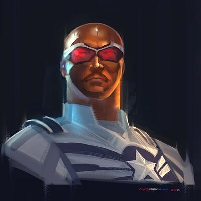 The Falcon - Captain America