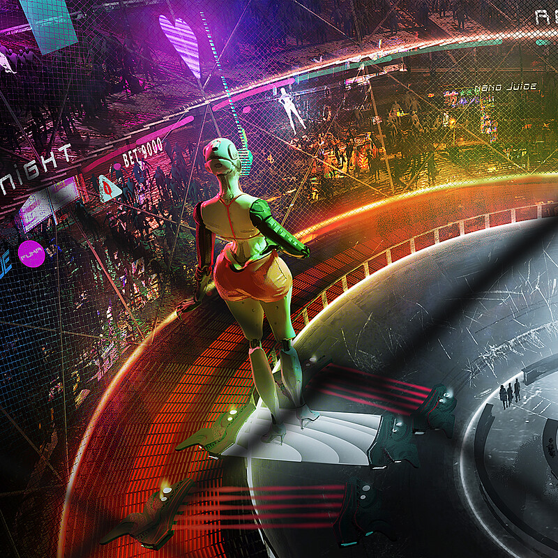 Robo Roller Derby