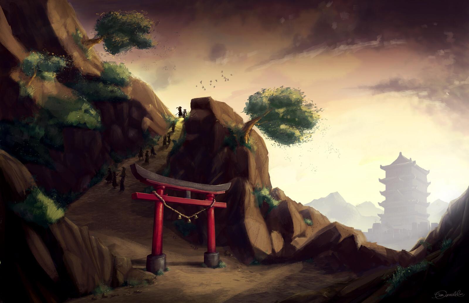 Environment Design Study: Feudal Japan