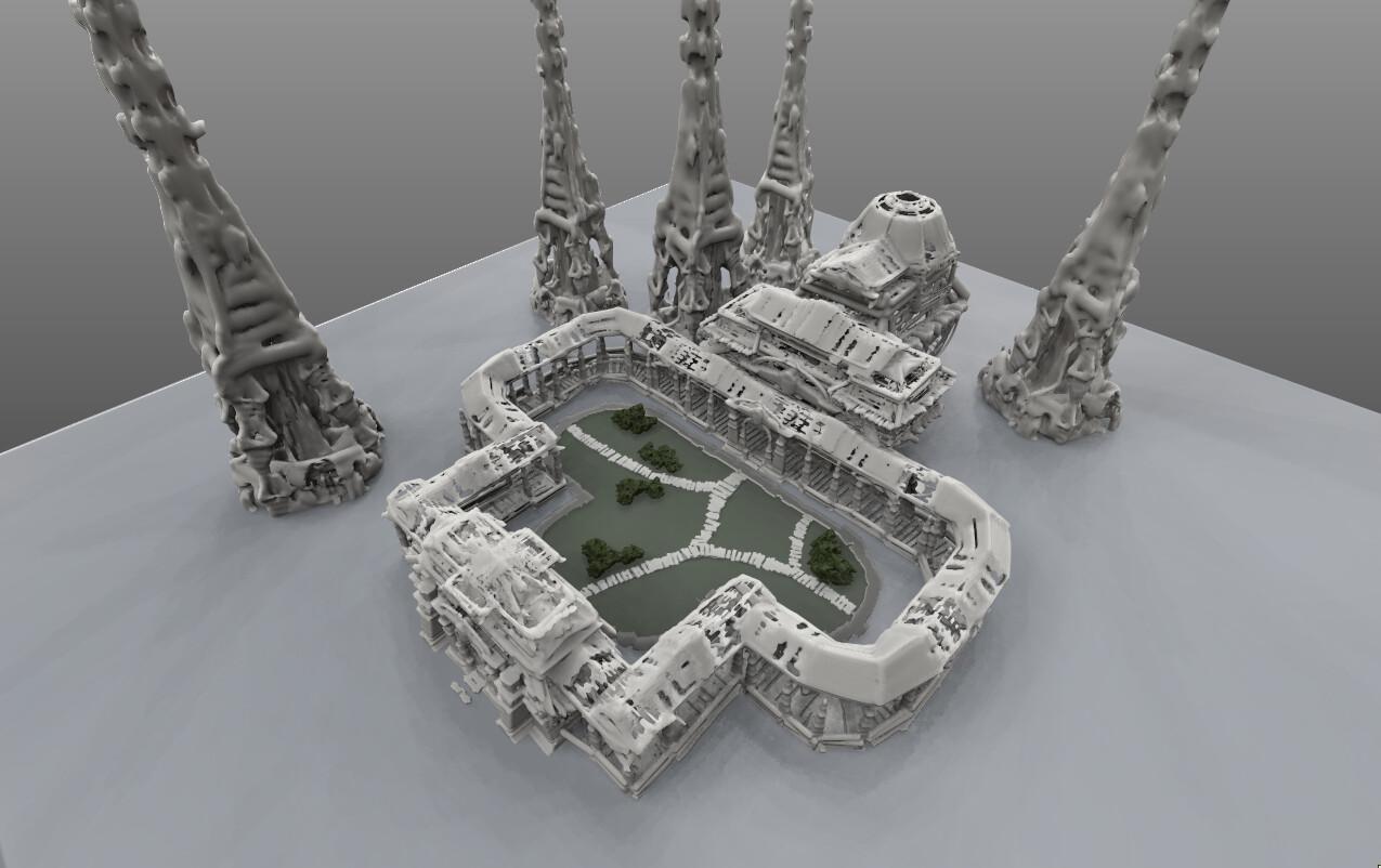 Rough Model - 3DCoat