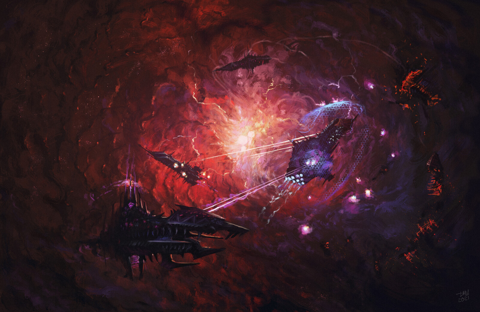 Battle of Spaceships