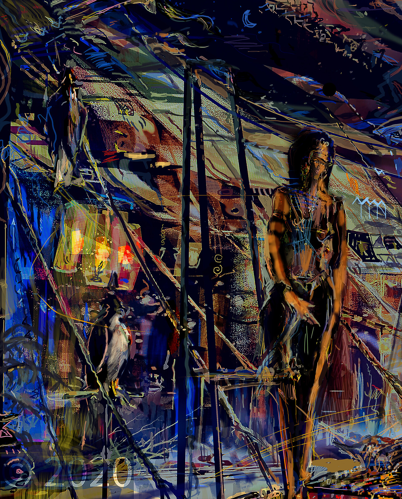Cleopatra. Night Encampment.