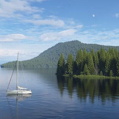 Jeffrey martinez sunday on the lake