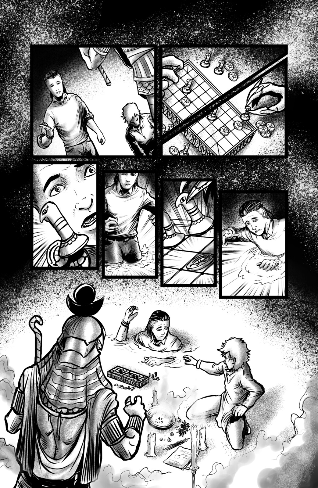 Book of Thoth Page 4 Inked