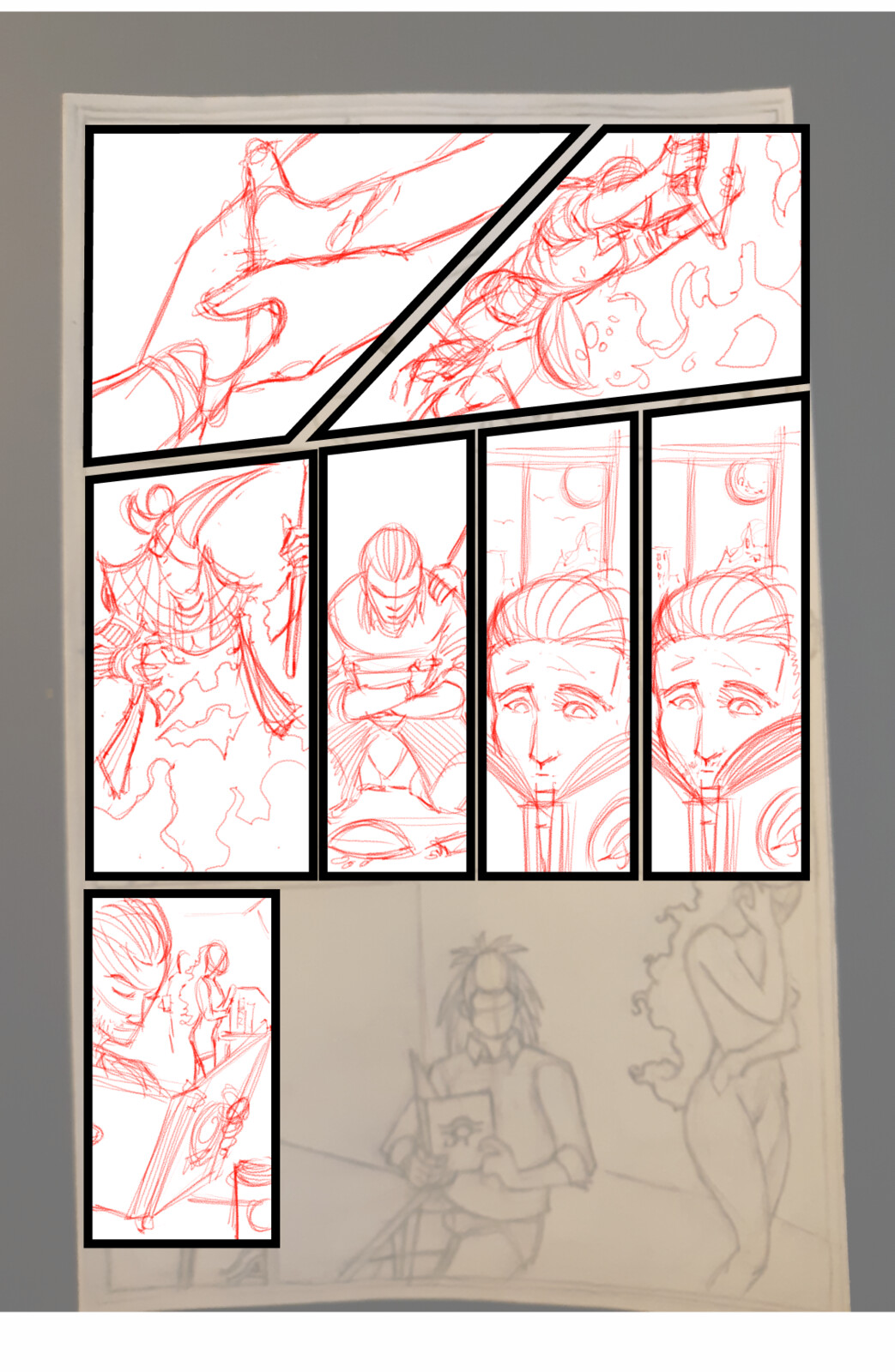 Book of Thoth Page 5 Penciled