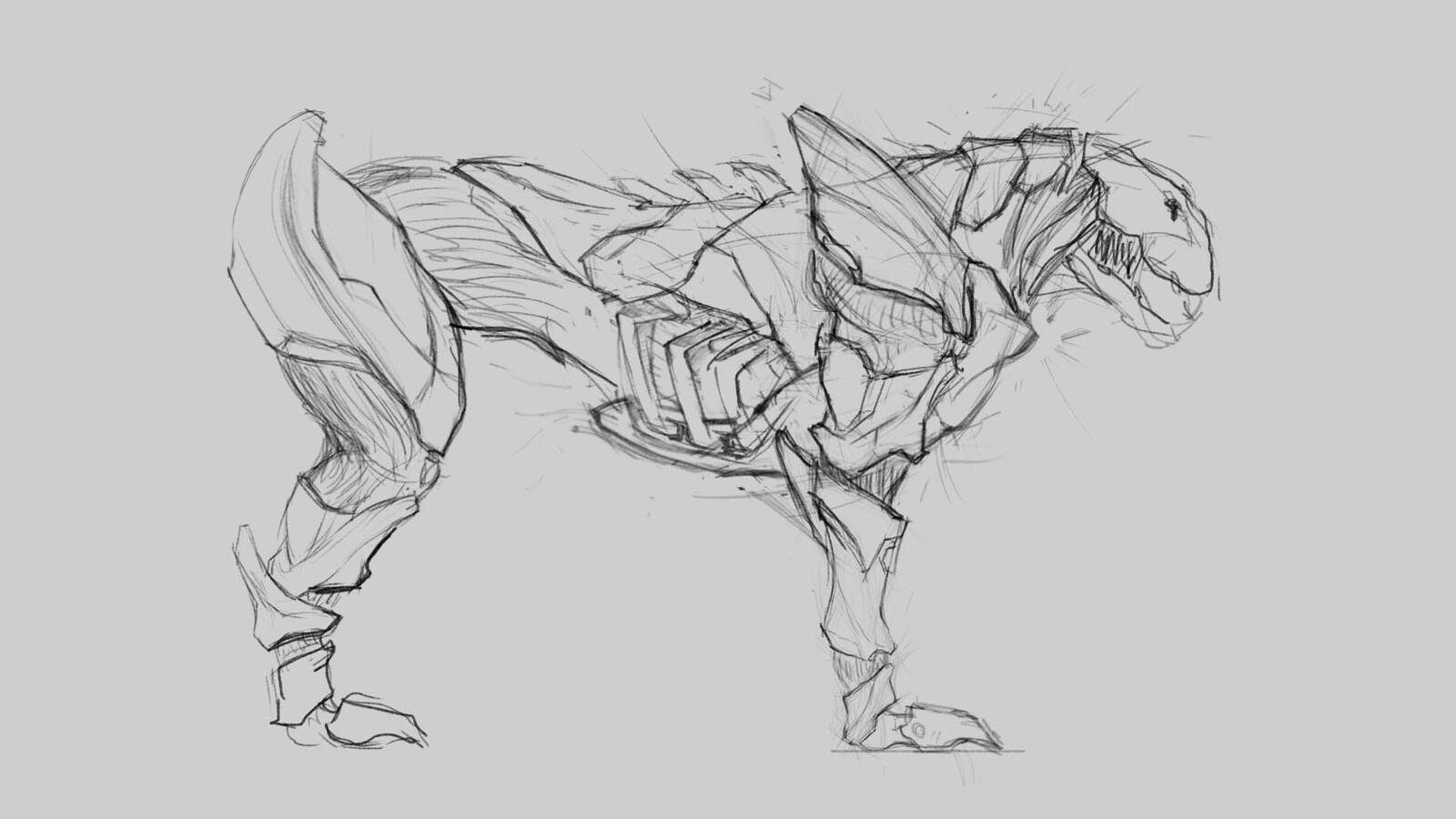 Refining shapes a bit.