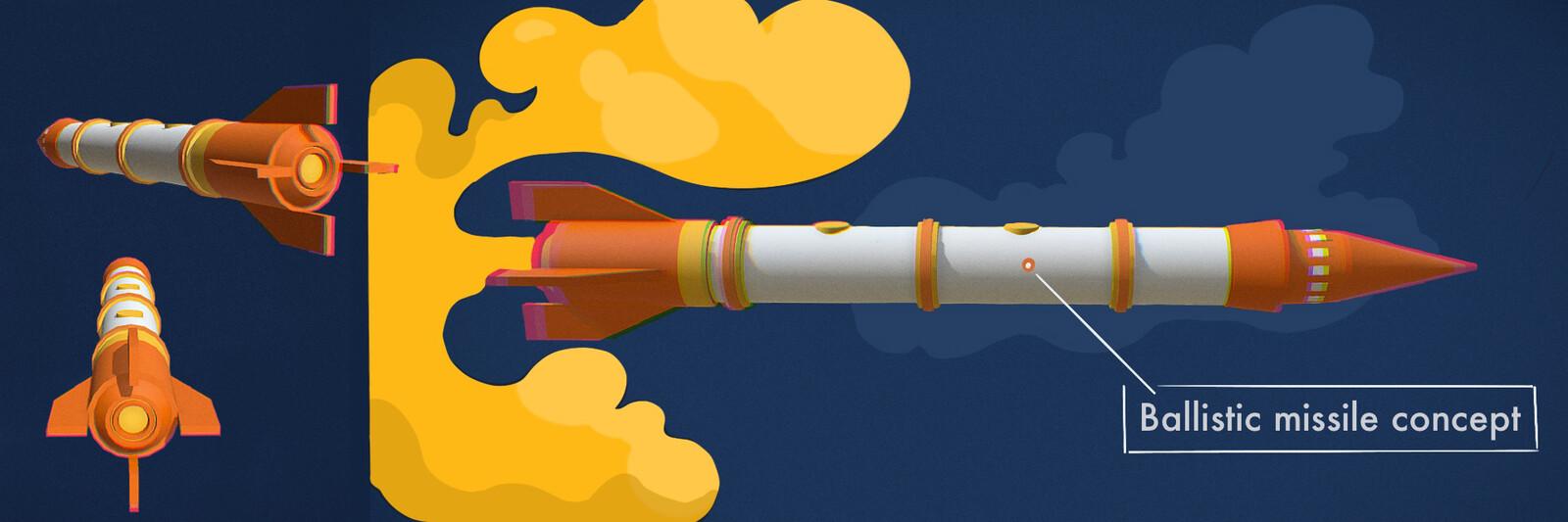 Ballistic missile concept