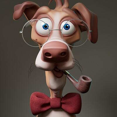 Professor Dog