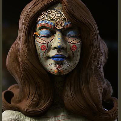 Surajit sen winner digital sculpture surajitsen may2021al