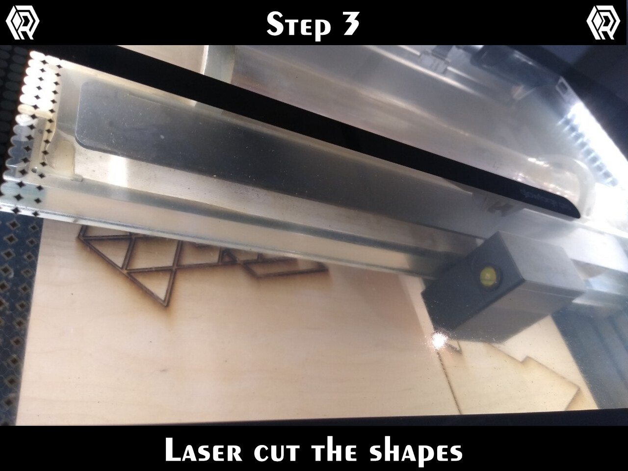 """I'm cutting 1/4"""" Cherry plywood on a Glowforge. I use a strong cut (125/50) to ensure full separation."""