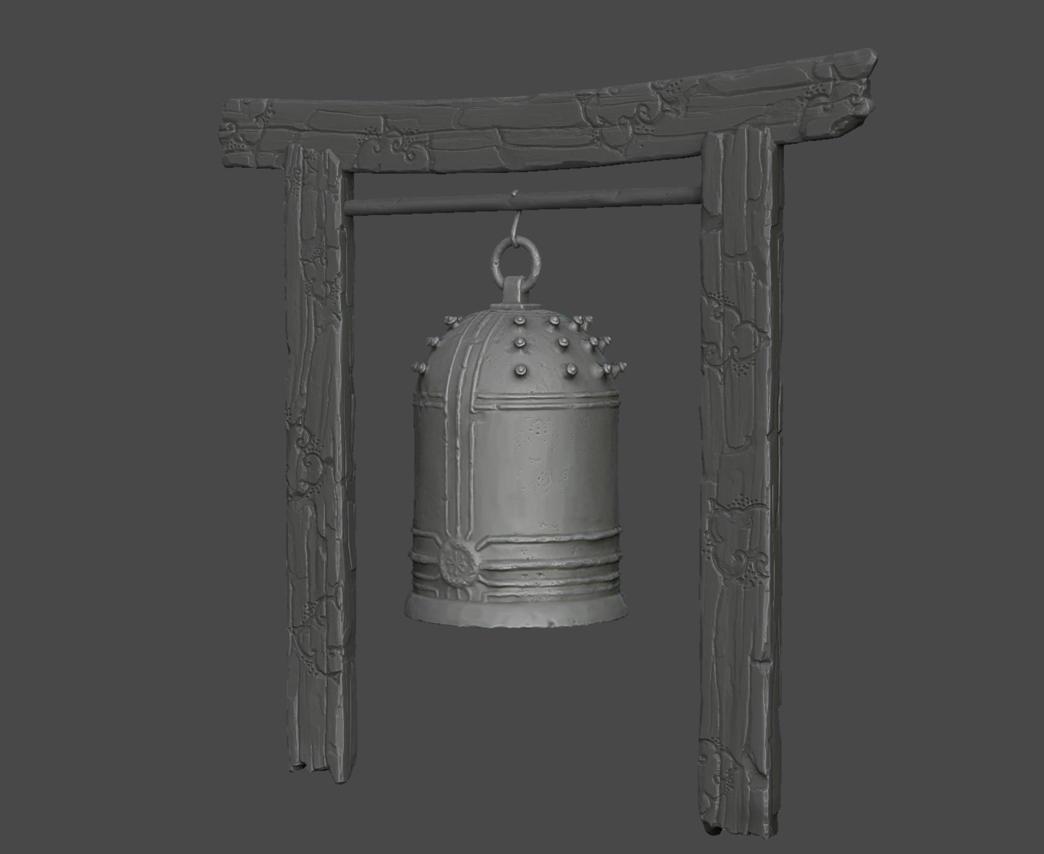 Bell Post Sculpt