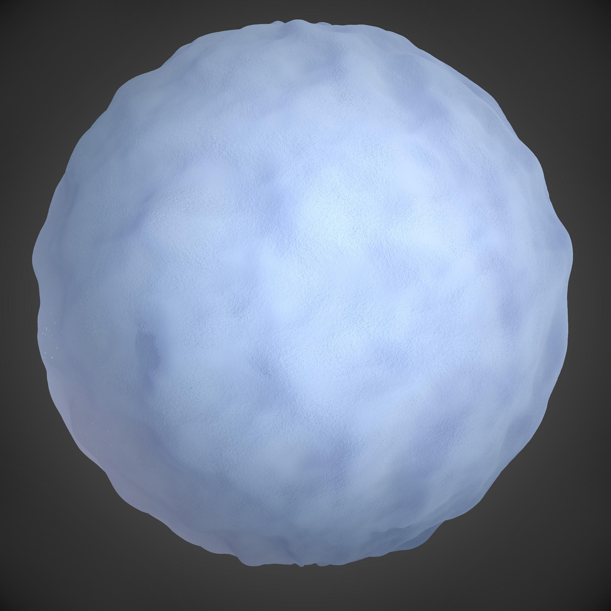 Snow Material