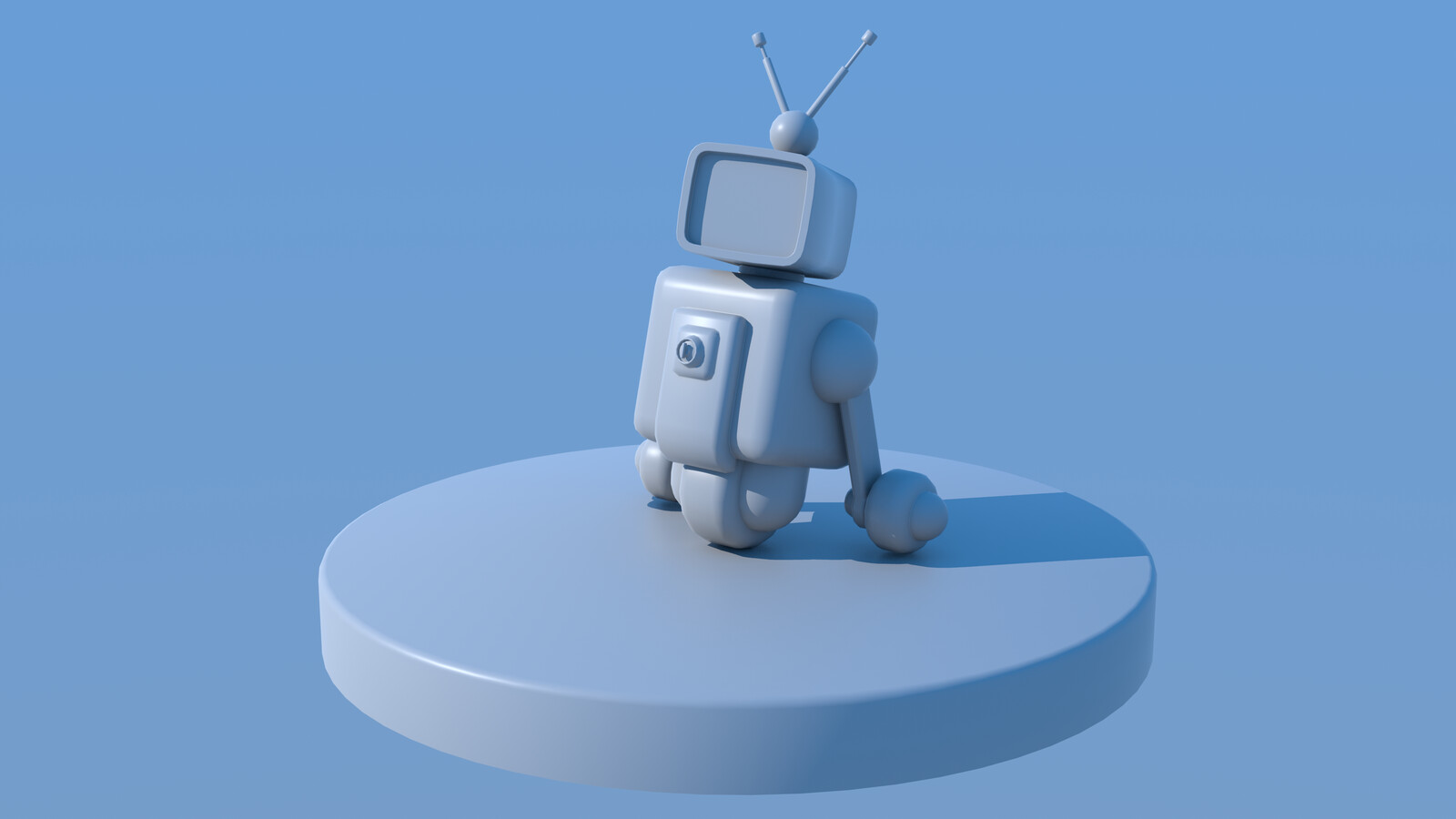 Low-Stimulation Robot