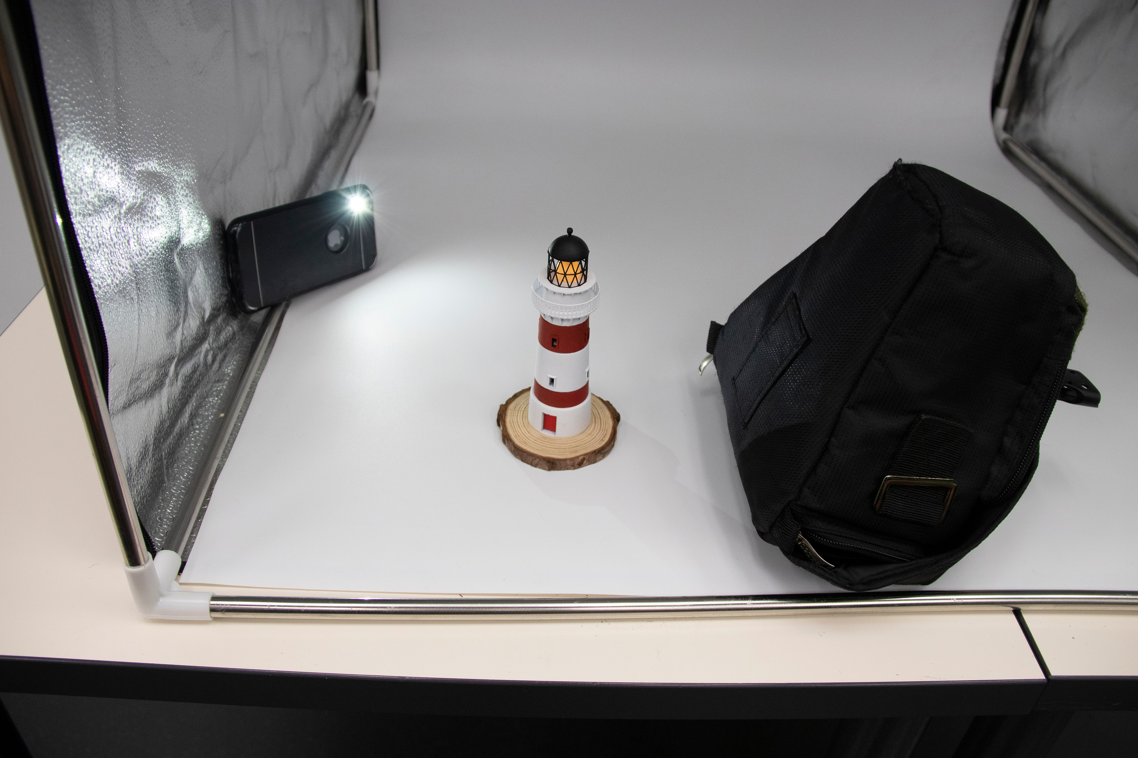 Improvised photoshoot at Auckland Library