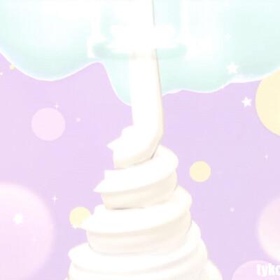Judy kao artstation tykcartoon pastel soft serve ice cream