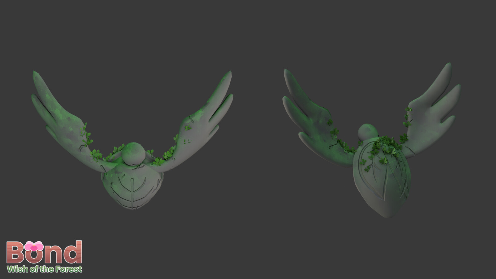 This is a reused creature model in the game that Ilda Aguilar (https://twitter.com/fresitartista) made and I remodeled the head and wings. I also textured it to look like a stone structure.