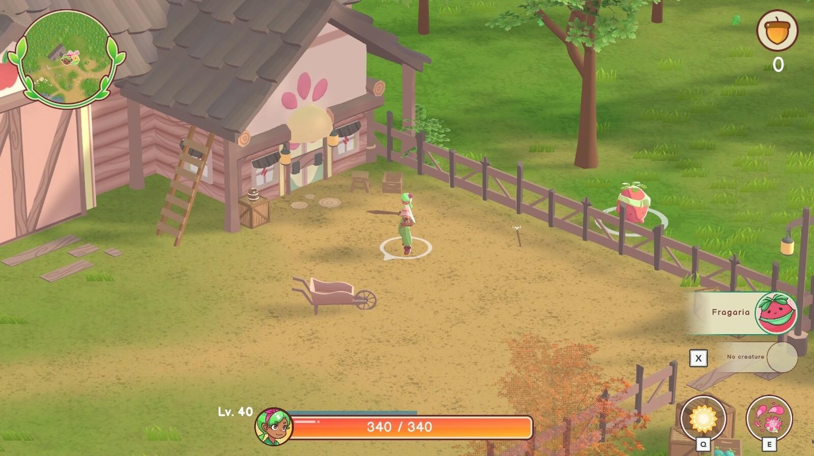 In game screenshots!