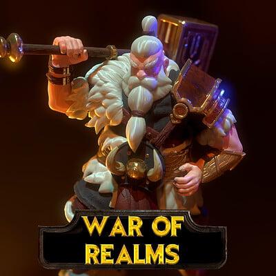 Renan leser bolar the dwarf war of realms