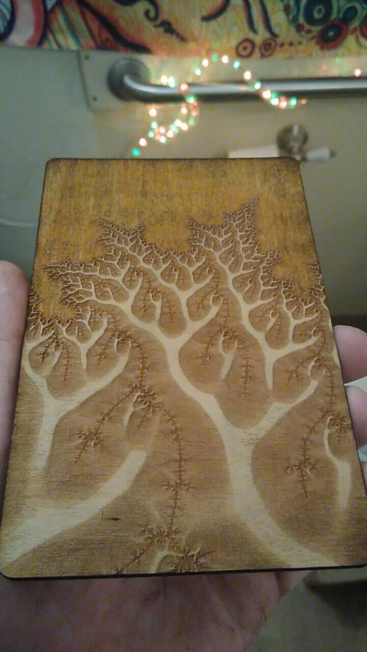 Tactile Fractal Engravings with TaraRoys
