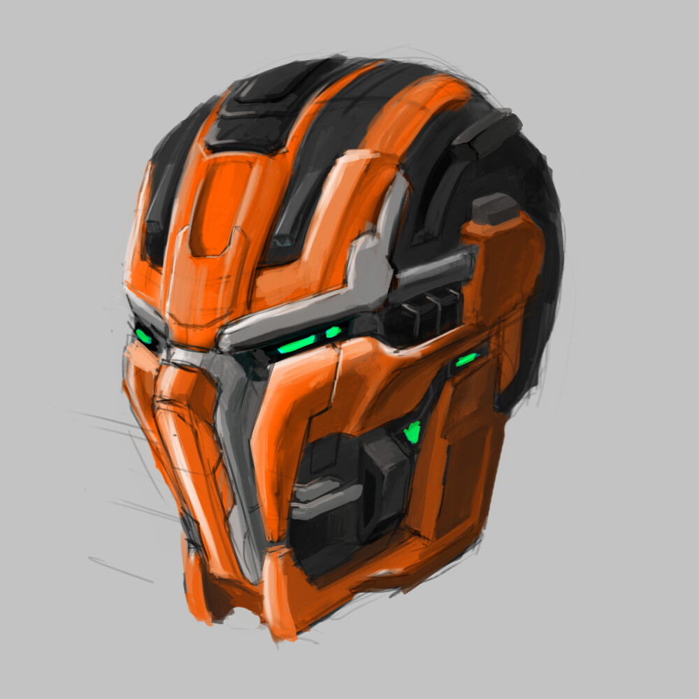 Trying to learn concepting with digital painting.