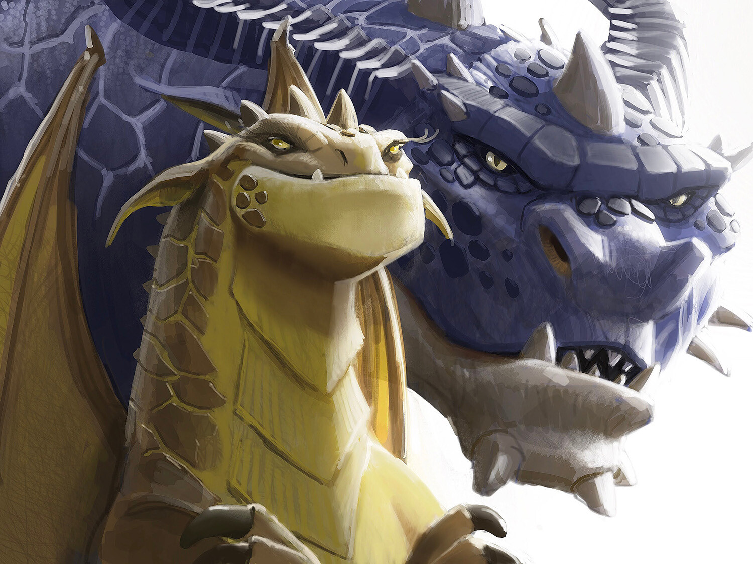 Two dragons