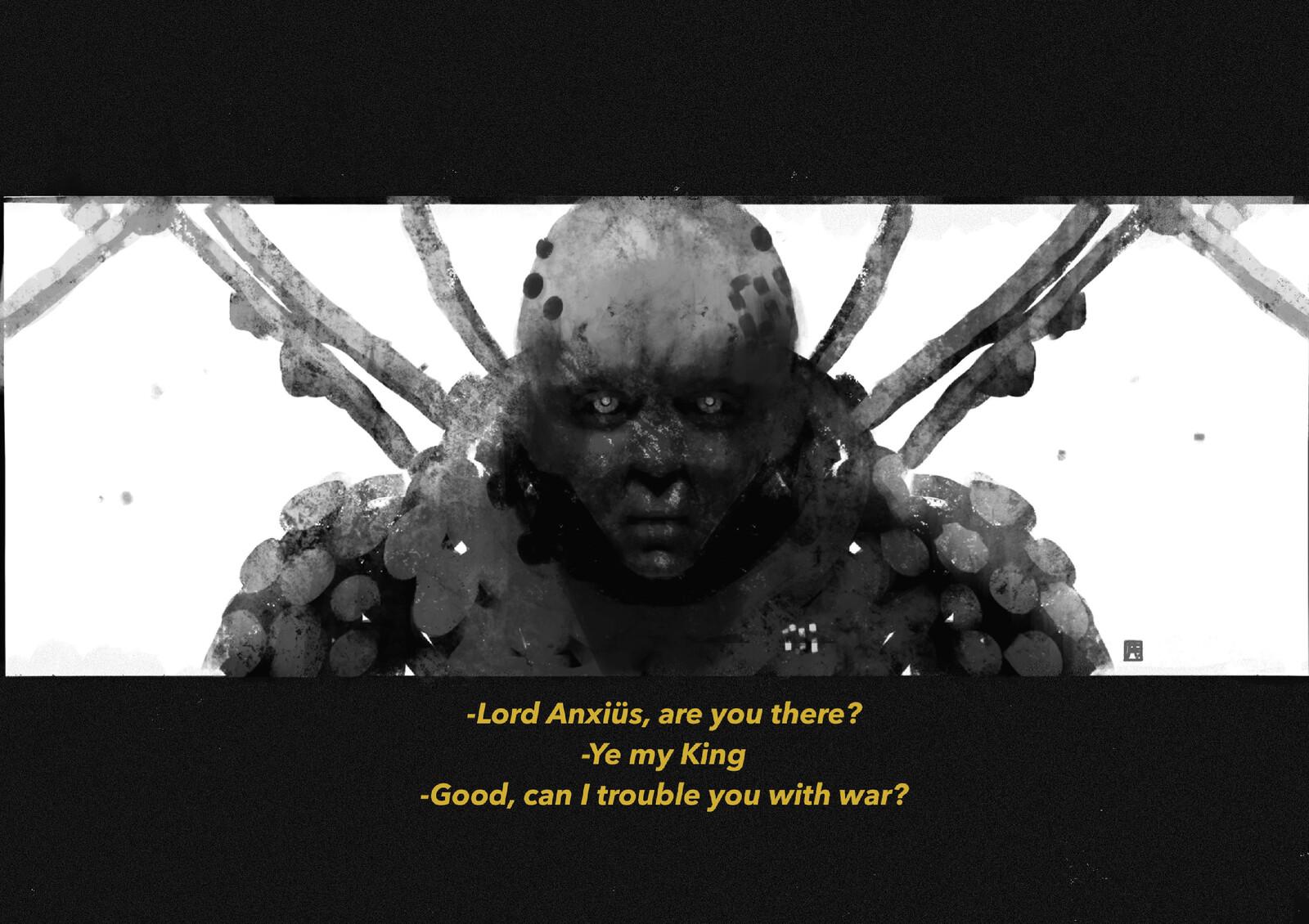 The Mushroom World: Lord Anxiüs//01