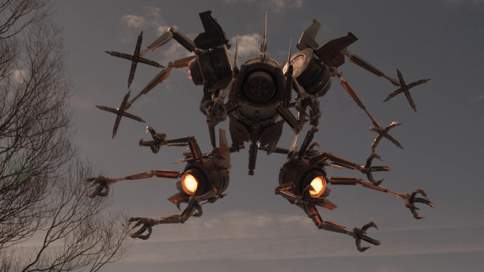 Endlings - Megadrone Concept