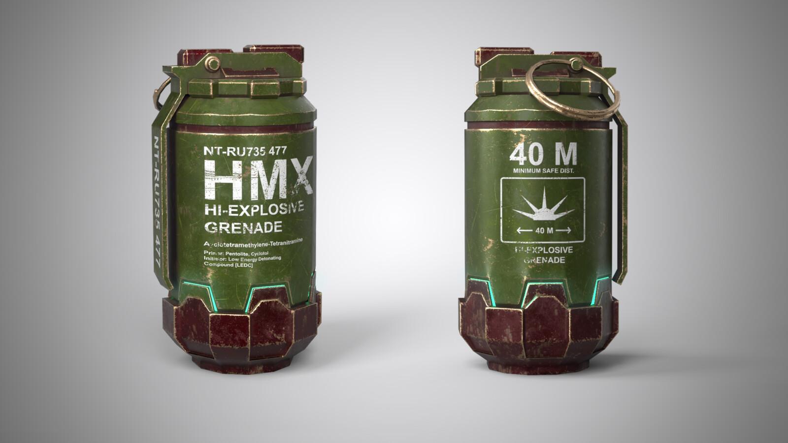 Green Grenade!