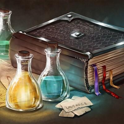Magical kaleidoscope alastor mage book