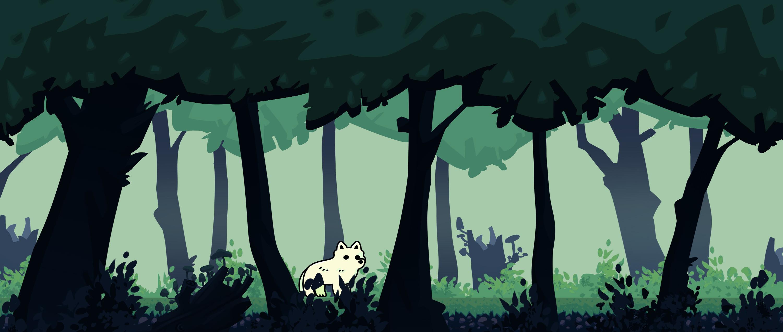 Forest level mockup