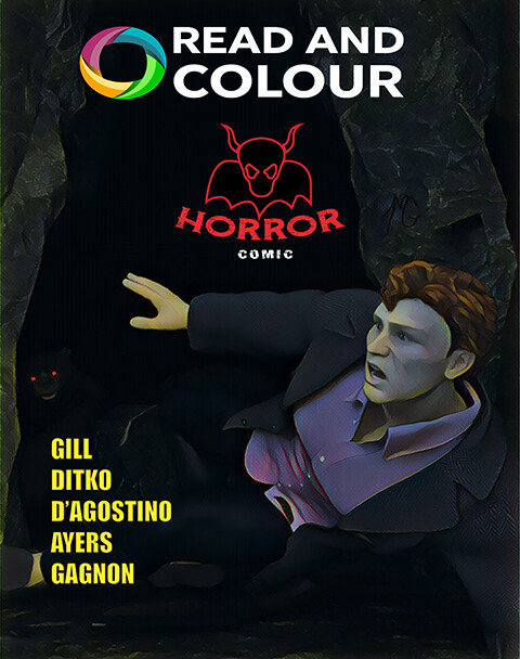 Read and Colour: Horror Comic