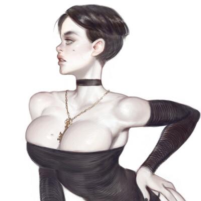 Warmics mario vazquez black dress peek