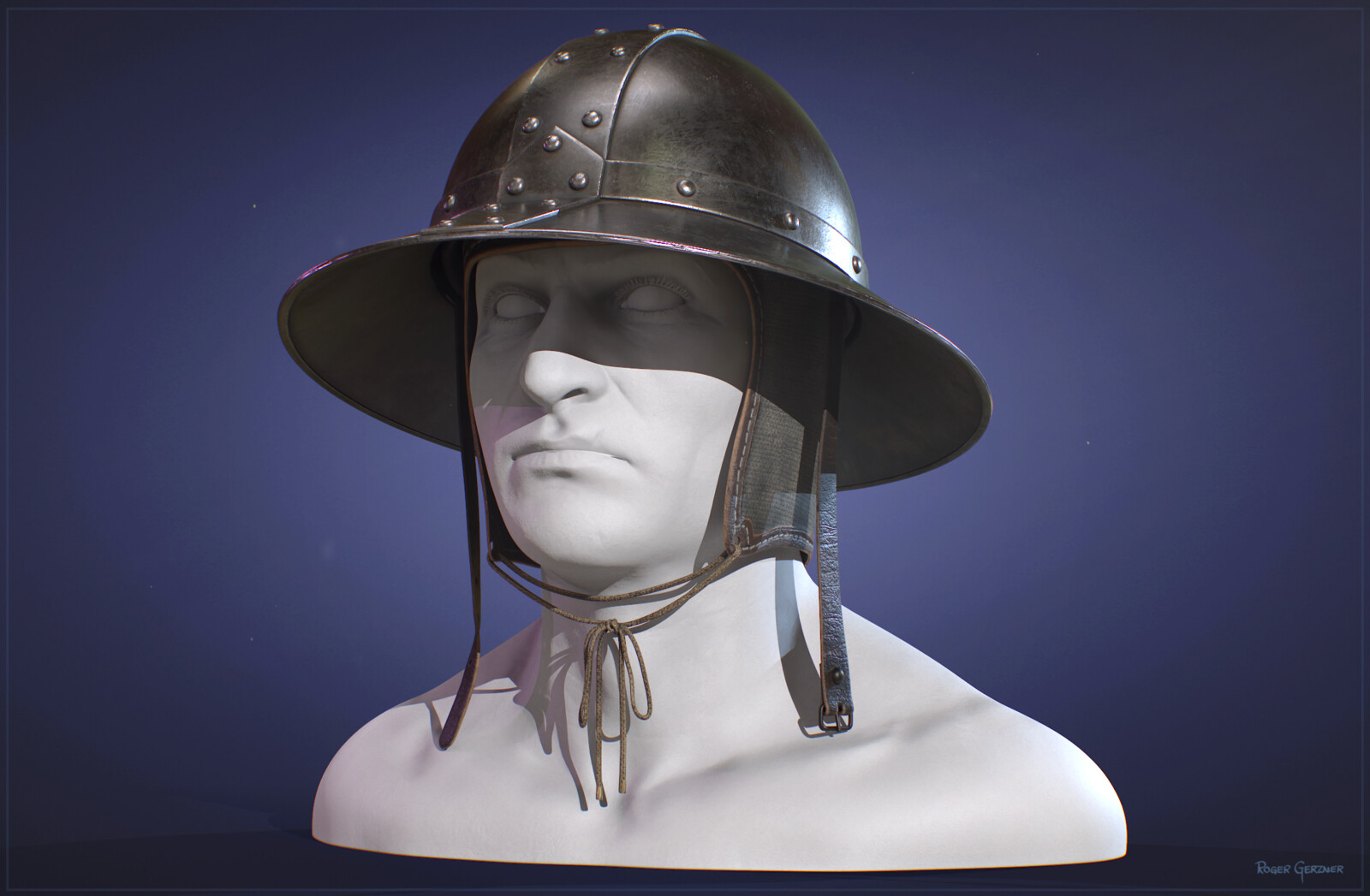 Medieval Kettle Hat