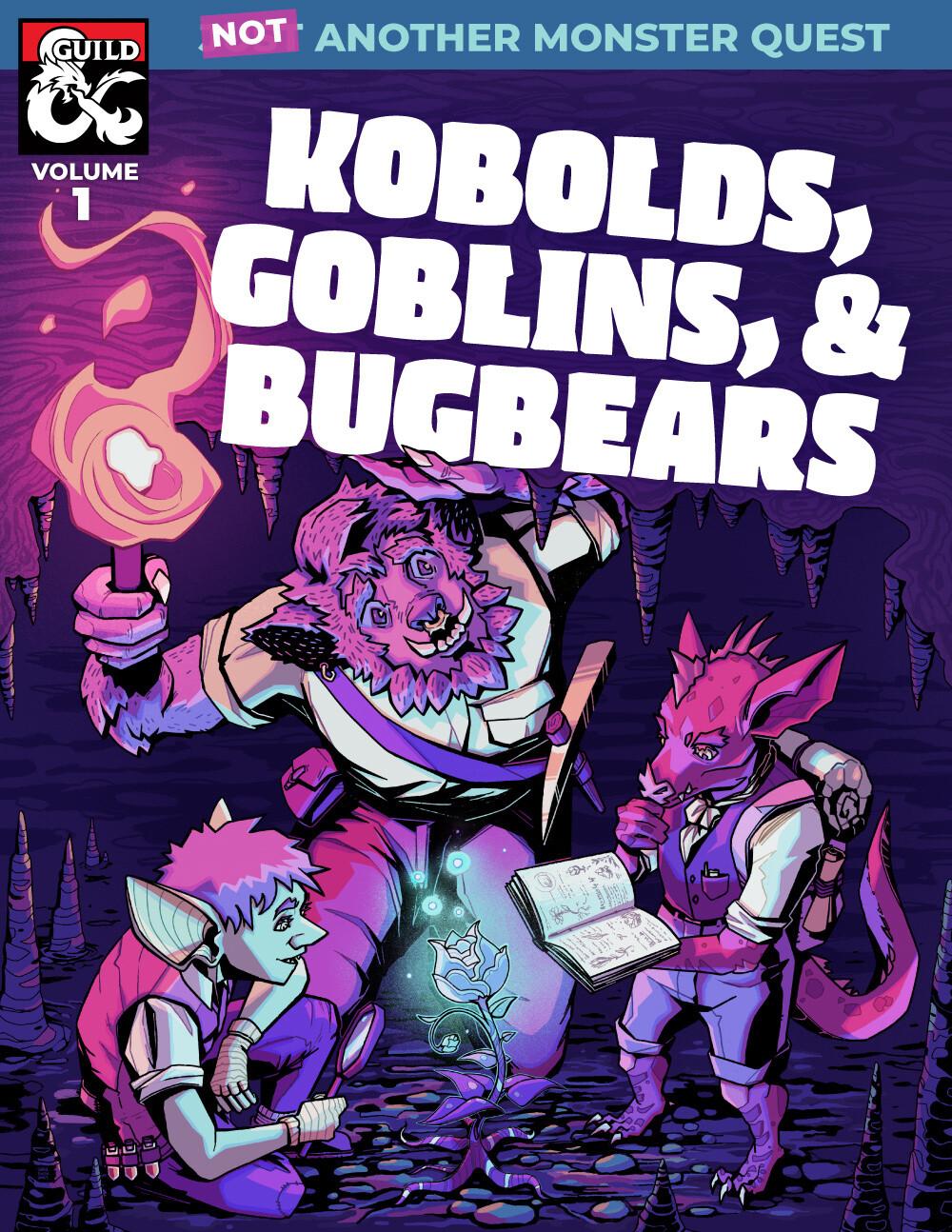 Kobolds, Goblins & Bugbears (NAMQB Vol. 1 Cover)