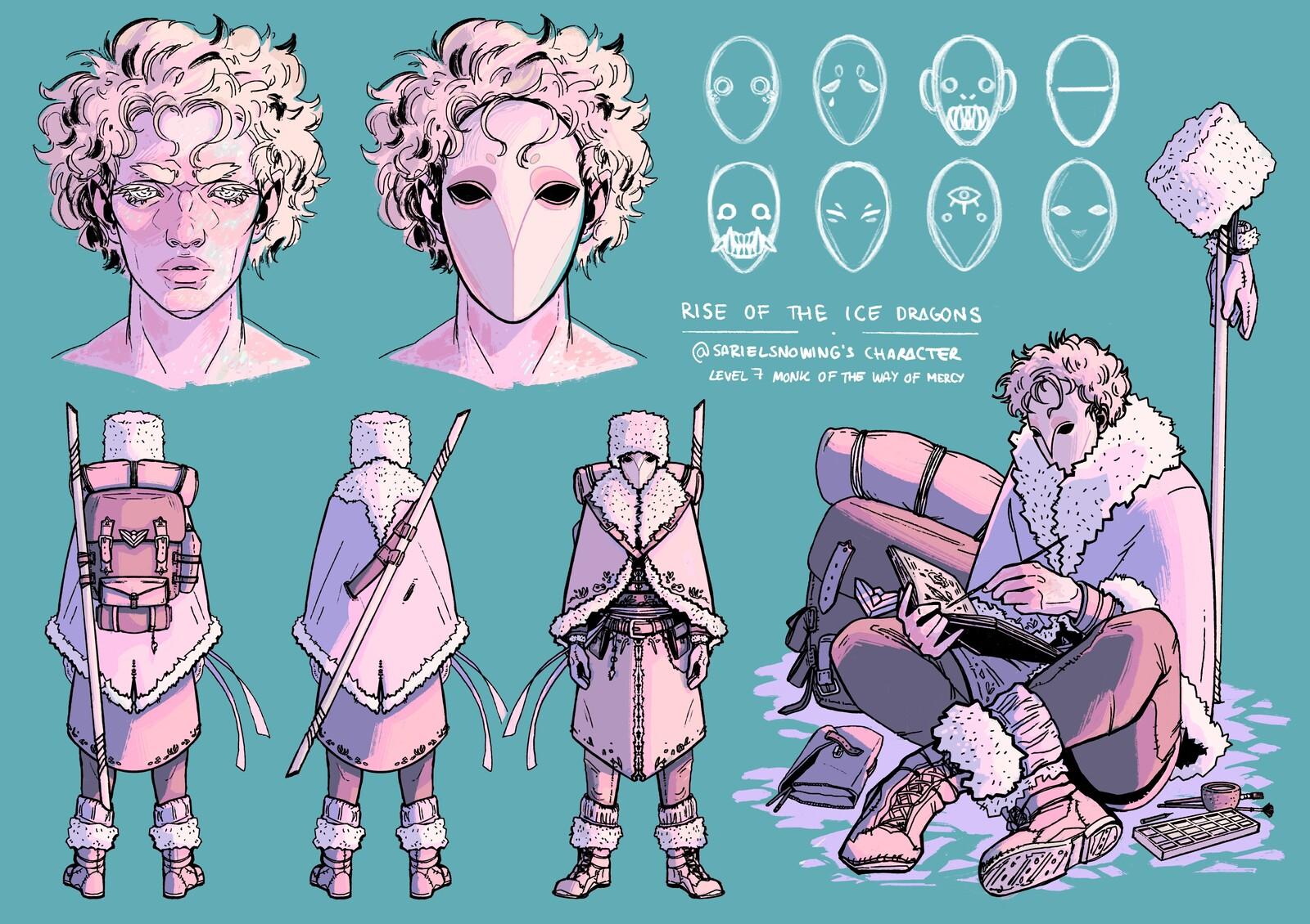 Azar - Fantasy RPG Character Art